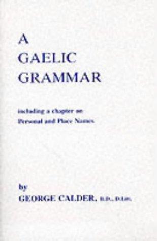 Download A Gaelic grammar