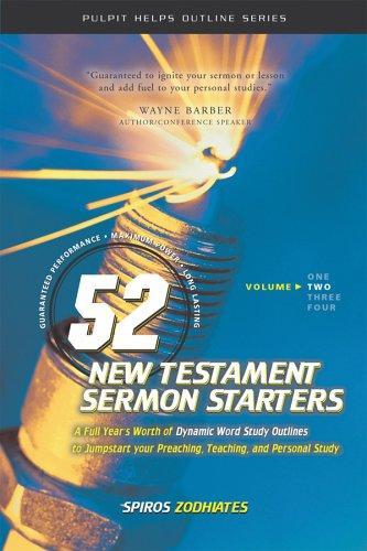 Exegetical Preaching (52 New Testament Sermon Starters)